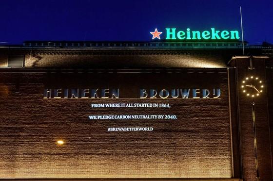 HEINEKEN đặt mục tiêu trung tính Carbon trong sản xuất vào năm 2030 và trong toàn bộ chuỗi cung ứng vào năm 2040