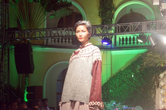 Biểu diễn thời trang mừng APEC 2017 ảnh 2