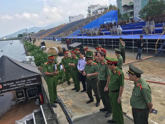 Kiểm tra đột xuất công tác phòng cháy chữa cháy tại Lễ hội pháo hoa Đà Nẵng ảnh 1