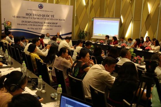 Đà Nẵng, Hội thảo quốc tế về tập huấn và đối thoại quyền con người ảnh 2