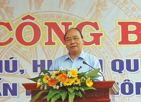 Thủ tướng Nguyễn Xuân Phúc dự Lễ công nhận xã Quế Phú đạt chuẩn nông thôn mới ảnh 1