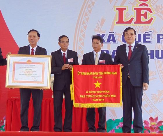 Thủ tướng Nguyễn Xuân Phúc dự Lễ công nhận xã Quế Phú đạt chuẩn nông thôn mới ảnh 2