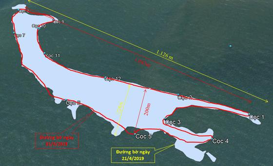 Cồn cát nổi bất thường tại biển Cửa Đại: Tăng kích thước cả chiều dài lẫn chiều rộng ảnh 2