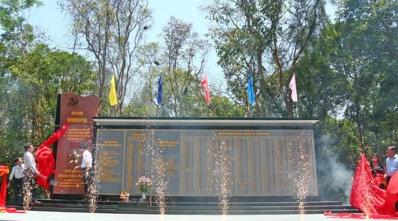 Khánh thành Bia lưu niệm Văn phòng Khu ủy Khu V ảnh 3