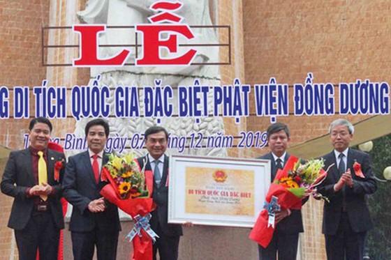 Phật viện Đồng Dương đón nhận Bằng xếp hạng di tích quốc gia đặc biệt ảnh 1