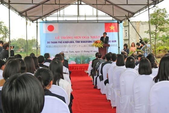 Lễ trồng hoa sen Oga tại Quảng Nam ảnh 1