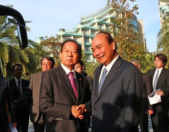 Thủ tướng tiếp Tổng Thư ký Đảng Dân chủ Tự do Nhật Bản ảnh 1