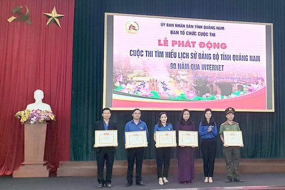 Quảng Nam phát động cuộc thi tìm hiểu Lịch sử Đảng bộ tỉnh Quảng Nam 90 năm qua Internet ảnh 1