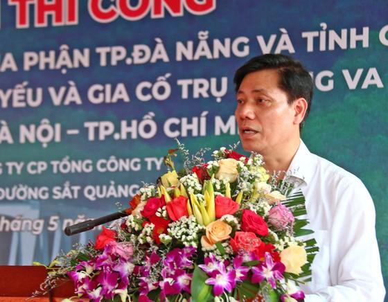 Khởi công Dự án cải tạo, nâng cấp các cầu yếu trên tuyến đường sắt Hà Nội – TPHCM ảnh 1