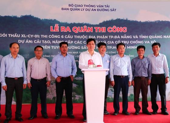 Khởi công Dự án cải tạo, nâng cấp các cầu yếu trên tuyến đường sắt Hà Nội – TPHCM ảnh 2