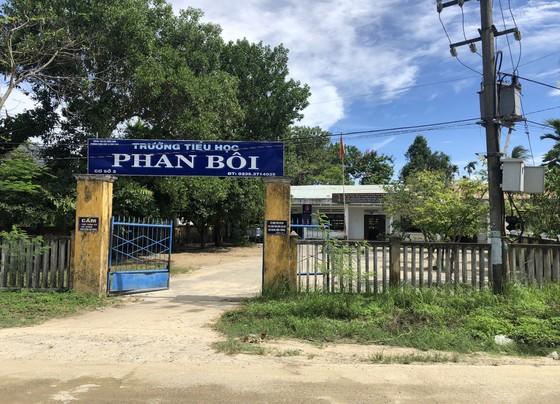 Ô nhiễm bủa vây trường học tại Quảng Nam ảnh 2