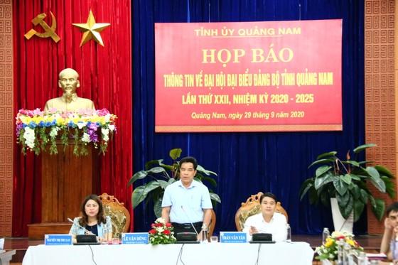 Hơn 400 đại biểu tham dự Đại hội đại biểu Đảng bộ tỉnh Quảng Nam lần thứ XXII ảnh 1