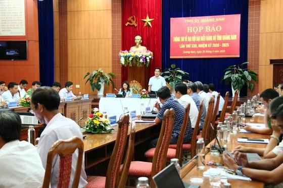 Hơn 400 đại biểu tham dự Đại hội đại biểu Đảng bộ tỉnh Quảng Nam lần thứ XXII ảnh 2