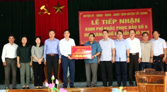 Đà Nẵng tài trợ cho Quảng Nam hơn 12 tỷ đồng khắc phục bão số 5 ảnh 4