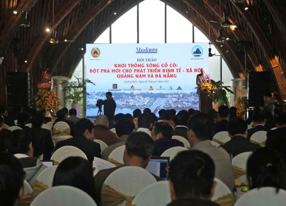 Khơi thông sông Cổ Cò: Đột phá mới cho phát triển kinh tế - xã hội Quảng Nam và Đà Nẵng ảnh 2