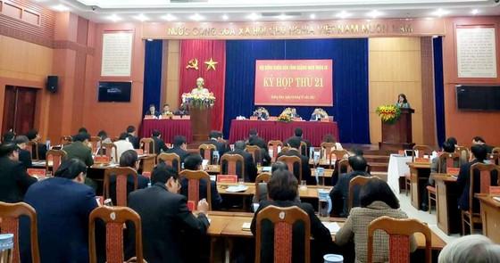 HĐND tỉnh Quảng Nam bầu bổ sung nhiều chức danh ảnh 1