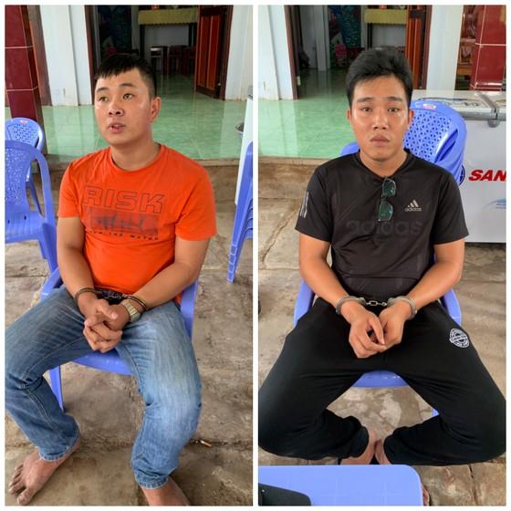 Bắt 2 thanh niên đánh, cướp súng của cảnh sát hình sự tại Tiền Giang  ảnh 1