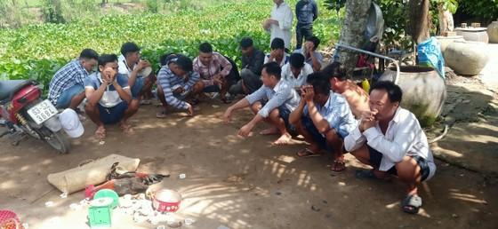 Triệt phá nhiều tụ điểm cờ bạc tại Tiền Giang ảnh 2