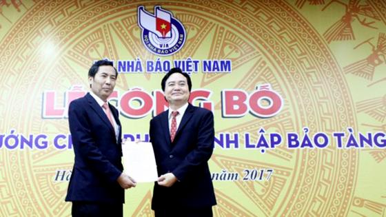 Công bố thành lập Bảo tàng Báo chí Việt Nam ảnh 1