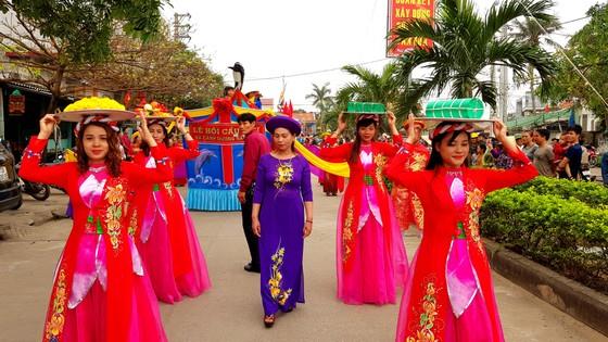 Lễ hội cầu ngư và xuất quân đánh cá tại làng biển Cảnh Dương ảnh 6
