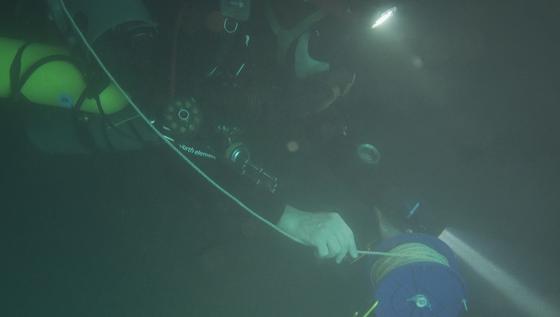 Nghẹt thở quang cảnh lặn sông ngầm bên dưới Sơn Đoòng ảnh 14