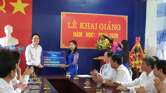Quảng Bình: Khai giảng Bộ trưởng không đọc diễn văn ảnh 4