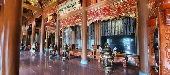 Hoàn thành đền thờ Bác Hồ và các anh hùng liệt sĩ Quảng Bình ảnh 7