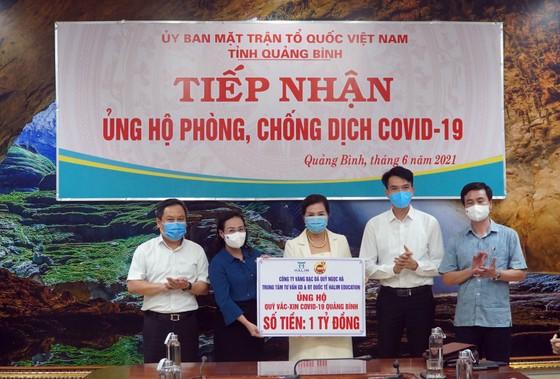 Quảng Bình: Tiếp nhận 11 tỷ đồng ủng hộ phòng chống dịch Covid-19 ảnh 1
