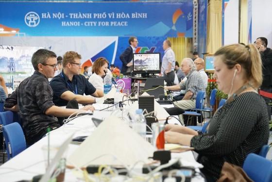 Điều gì đang diễn ra ở Trung tâm Báo chí quốc tế? ảnh 7