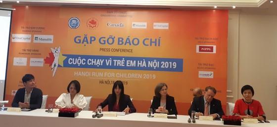 Họp báo giới thiệu Cuộc chạy vì trẻ em Hà Nội 2019 ảnh 1