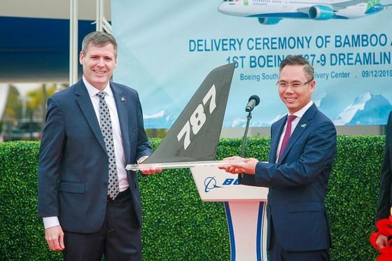 Máy bay Boeing 787-9 Dreamliner đầu tiên về với đội bay của Bamboo Airways ảnh 3