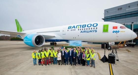 Máy bay Boeing 787-9 Dreamliner đầu tiên về với đội bay của Bamboo Airways ảnh 5