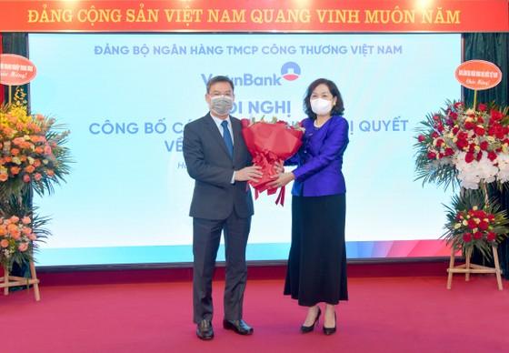 VietinBank có 2 lãnh đạo mới ảnh 1