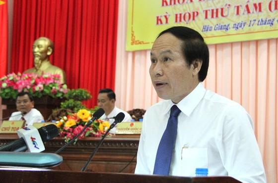 Thủ tướng phê chuẩn nhân sự chủ chốt tỉnh Hậu Giang ảnh 1
