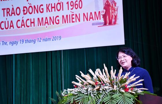 Hội thảo khoa học cấp quốc gia 'Phong trào Đồng khởi 1960 - Bước ngoặt của cách mạng miền Nam' ảnh 2
