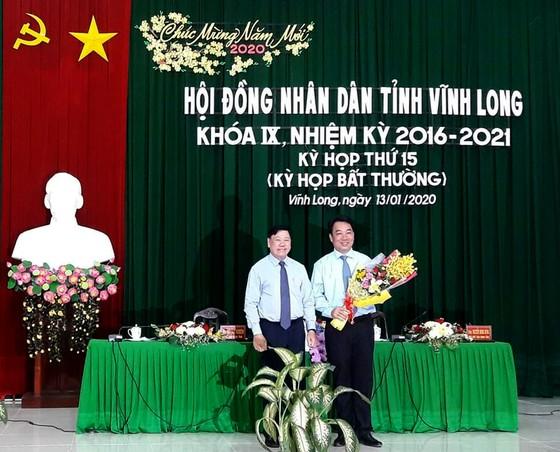 Ông Lữ Quang Ngời được bầu giữ chức Chủ tịch UBND tỉnh Vĩnh Long ảnh 1