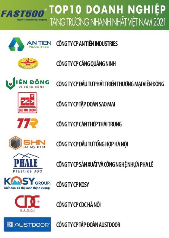 Vietnam Report, công bố Top 500 Doanh nghiệp tăng trưởng nhanh nhất Việt Nam ảnh 2
