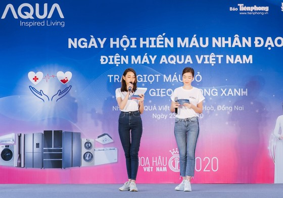 Hoa hậu Đỗ Mỹ Linh, Tiểu Vy cùng 200 tình nguyện viên hiến máu cứu người ảnh 8