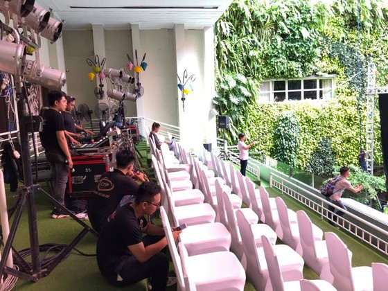 Rộn ràng trước giờ G Lễ trao giải Quả bóng vàng Việt Nam 2019 ảnh 12