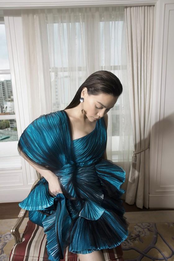 Thanh Hằng, Hồ Ngọc Hà cùng xuất hiện trên Vogue Pháp ảnh 11
