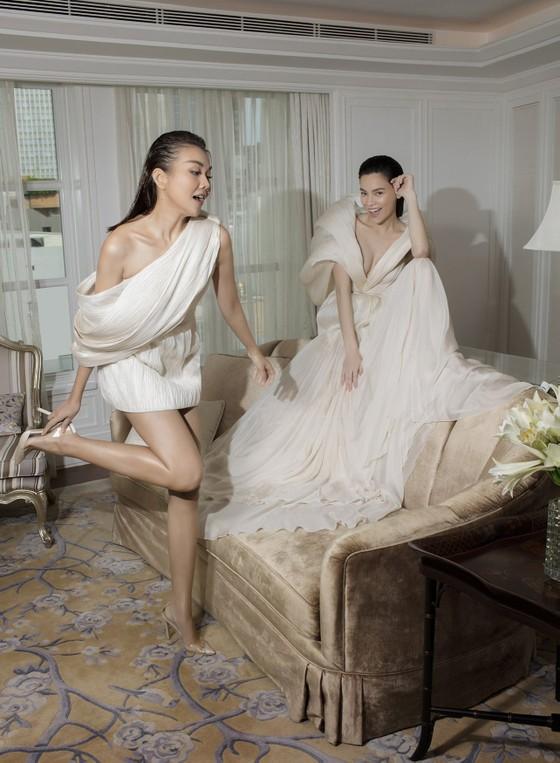 Thanh Hằng, Hồ Ngọc Hà cùng xuất hiện trên Vogue Pháp ảnh 5