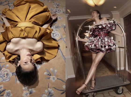 Thanh Hằng, Hồ Ngọc Hà cùng xuất hiện trên Vogue Pháp ảnh 6