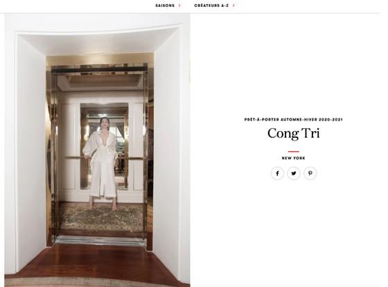 Thanh Hằng, Hồ Ngọc Hà cùng xuất hiện trên Vogue Pháp ảnh 1