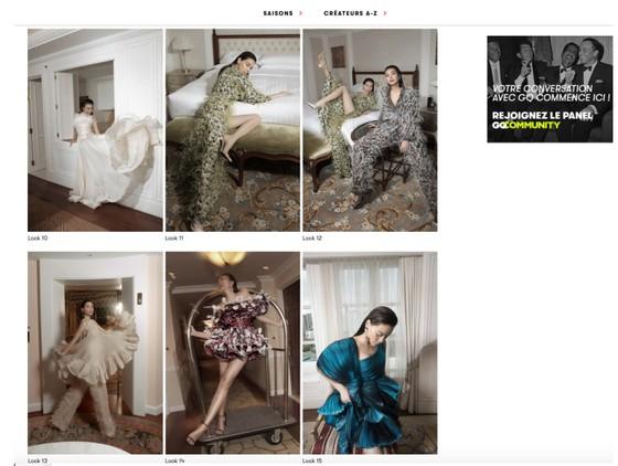 Thanh Hằng, Hồ Ngọc Hà cùng xuất hiện trên Vogue Pháp ảnh 2