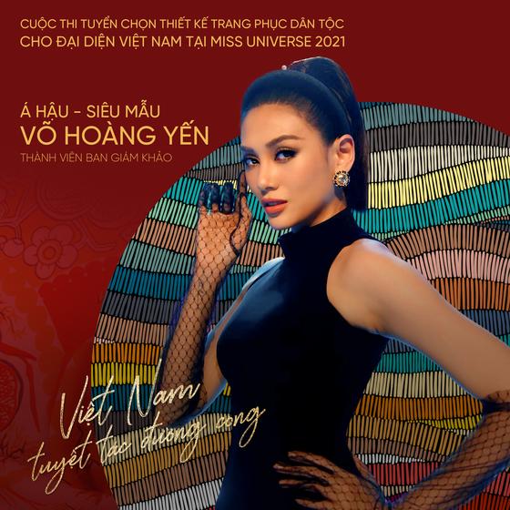 Võ Hoàng Yến, H'Hen Niê giúp Khánh Vân tìm ra trang phục dân tộc thi Miss Universe ảnh 4