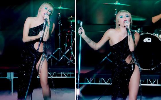 Miley Cyrus gợi cảm trong thiết kế của NTK Công Trí ảnh 3