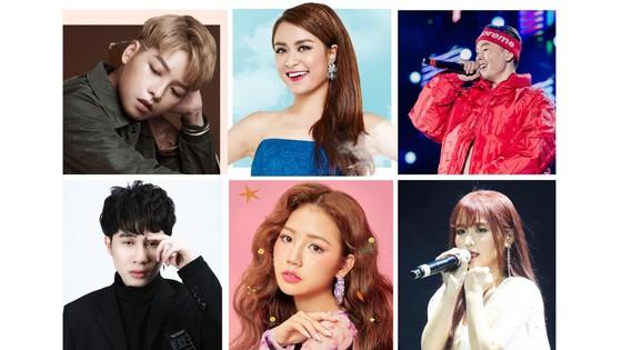 Hoàng Thùy Linh, Đức Phúc, Amee, Binz, Han Sara, Jack vào bảng đề cử MTV Việt Nam ảnh 1