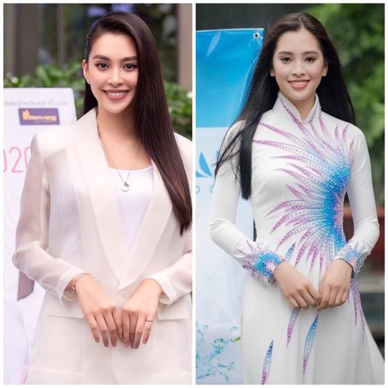 Hoa hậu Đỗ Mỹ Linh, Tiểu Vy thanh lịch tại sơ khảo Hoa hậu Việt Nam 2020 ảnh 8
