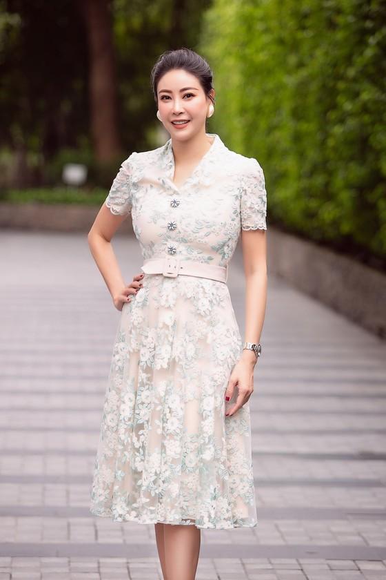 Hoa hậu Đỗ Mỹ Linh, Tiểu Vy thanh lịch tại sơ khảo Hoa hậu Việt Nam 2020 ảnh 5