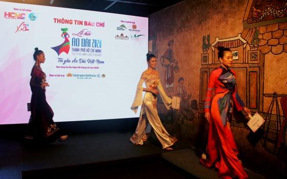 Nghệ sĩ Phi Điểu, Kim Xuân, hoa hậu Khánh Vân làm đại sứ hình ảnh cho Lễ hội Áo dài TPHCM ảnh 1
